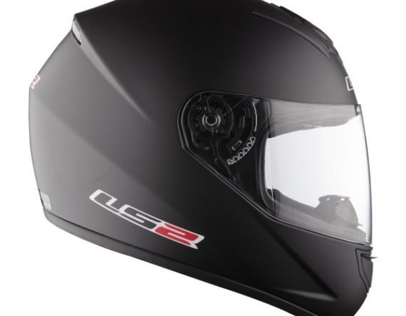 CASCO INTEGRALE LS2 Single MONO FF352 NERO OPACO TAGLIA L