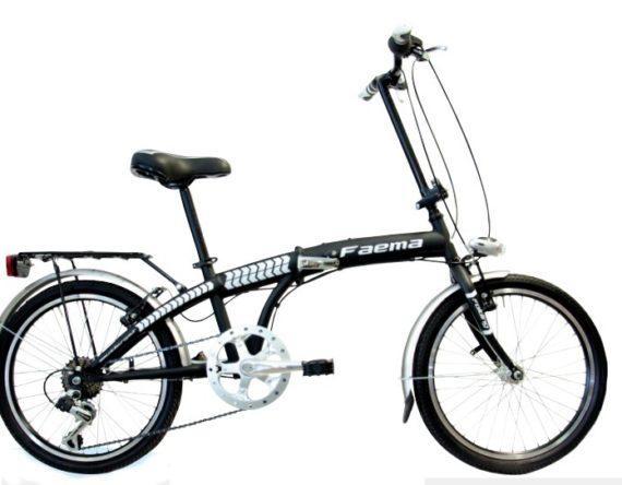 Bici FOLDING 20 ACCIAIO 6v. FAEMA