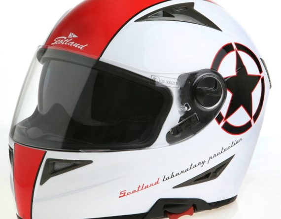 CASCO JET INTEGRALE SCOTLAND 120006 FORCE 04 STAR WHITE RED XL