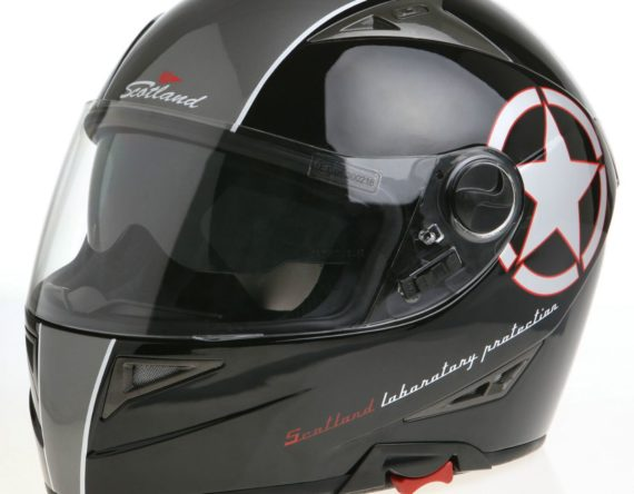 CASCO JET INTEGRALE SCOTLAND 120006 FORCE 04 STAR NERO OPACO S