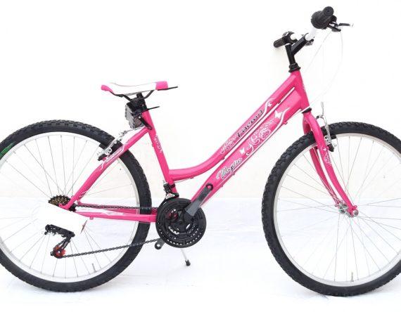 Bici FAEMA MOUNTAIN BIKE 24 DONNA 18V. FUXIA