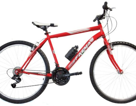 Bici FAEMA MOUNTAIN BIKE 24 UOMO 18V. ROSSA