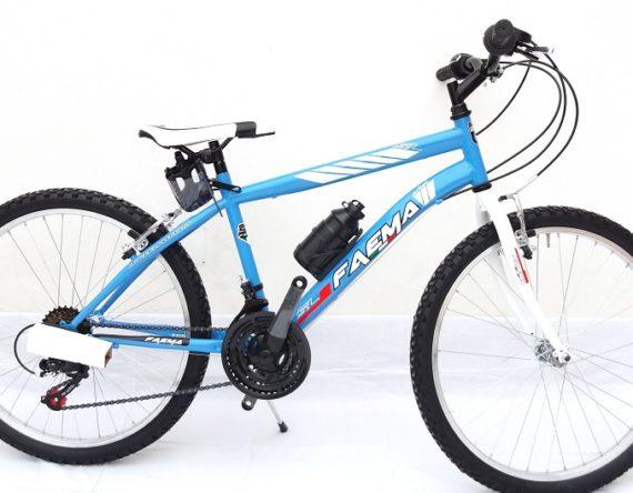 Bici FAEMA MOUNTAIN BIKE 26 UOMO 21V. CELESTE