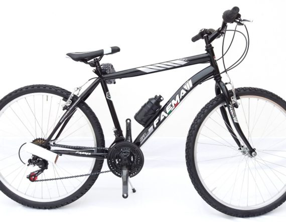 Bici FAEMA MOUNTAIN BIKE 26 UOMO 21V. NERO