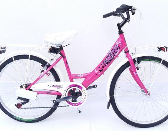 Bici OLANDA 24 MONOTUBO 6V. FAEMA VIOLA