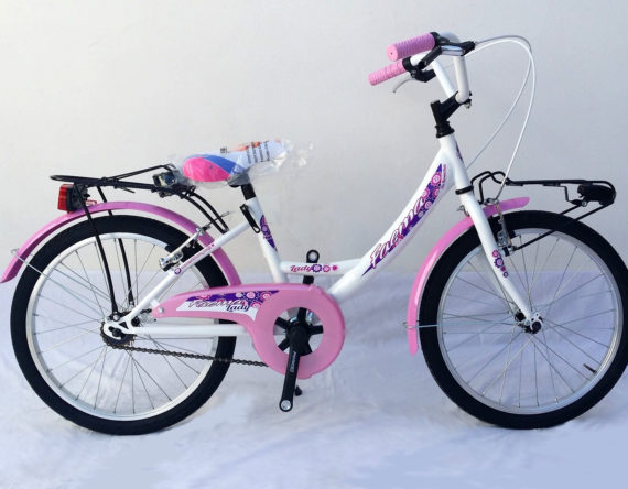 Bici OLANDA 20 MONOTUBO 1V. FAEMA BIANCA