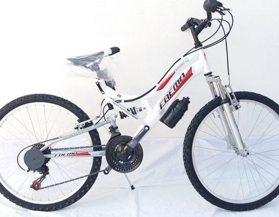 Bici BIAMMORTIZZATA 24 21v. FAEMA BIANCA new
