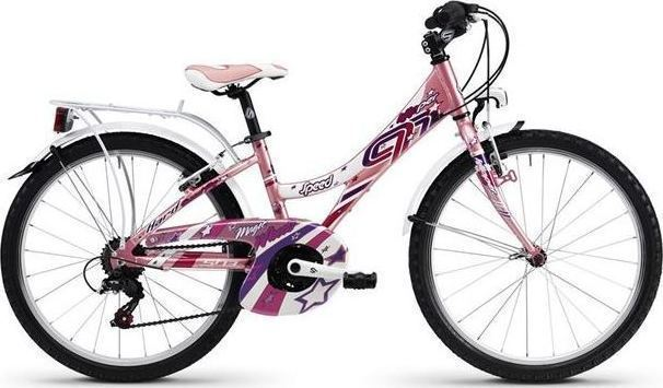 Bici KLIPPER 20 6v SPEED PINK PEARL