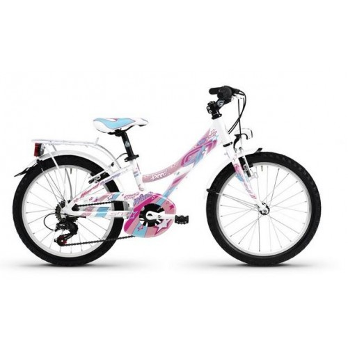 Bici KLIPPER 24 18v SPEED WHITE PEARL