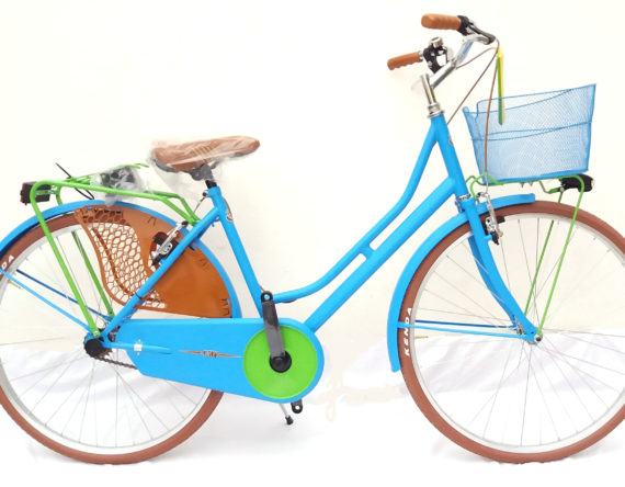 BICI REGINA MOD.new OLANDA FASHION 26 TURCHESE