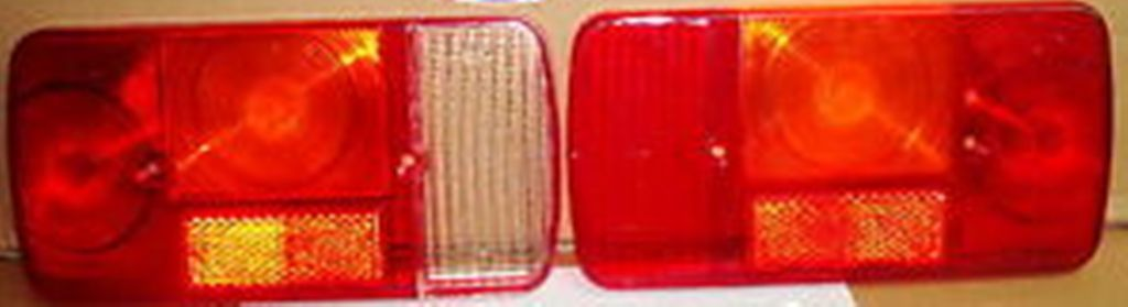 VETRI GEMME FANALI POSTERIORI IN COPPIA APE TM 703 FL2 – DIESEL DAL '99 ART. FRP433CP