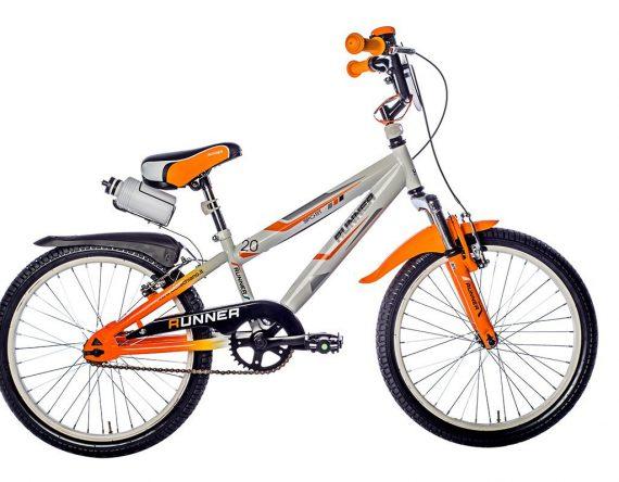 Flli-Schiano-Runner-Bicicletta-Bambino-Forcella-Ammortizzata-BiancoArancio-20-B011NWBQJW