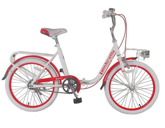 Lambrettina-Pocket-Special-Bicicletta-Rosso-20-B018TZW8PC