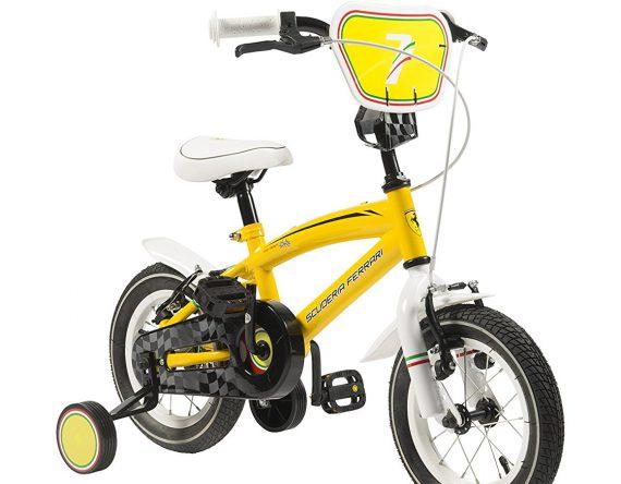 SCUDERIA-FERRARI-Bicicletta-Kid-Team-12-Yel-YEL-12-B01E02UQD4