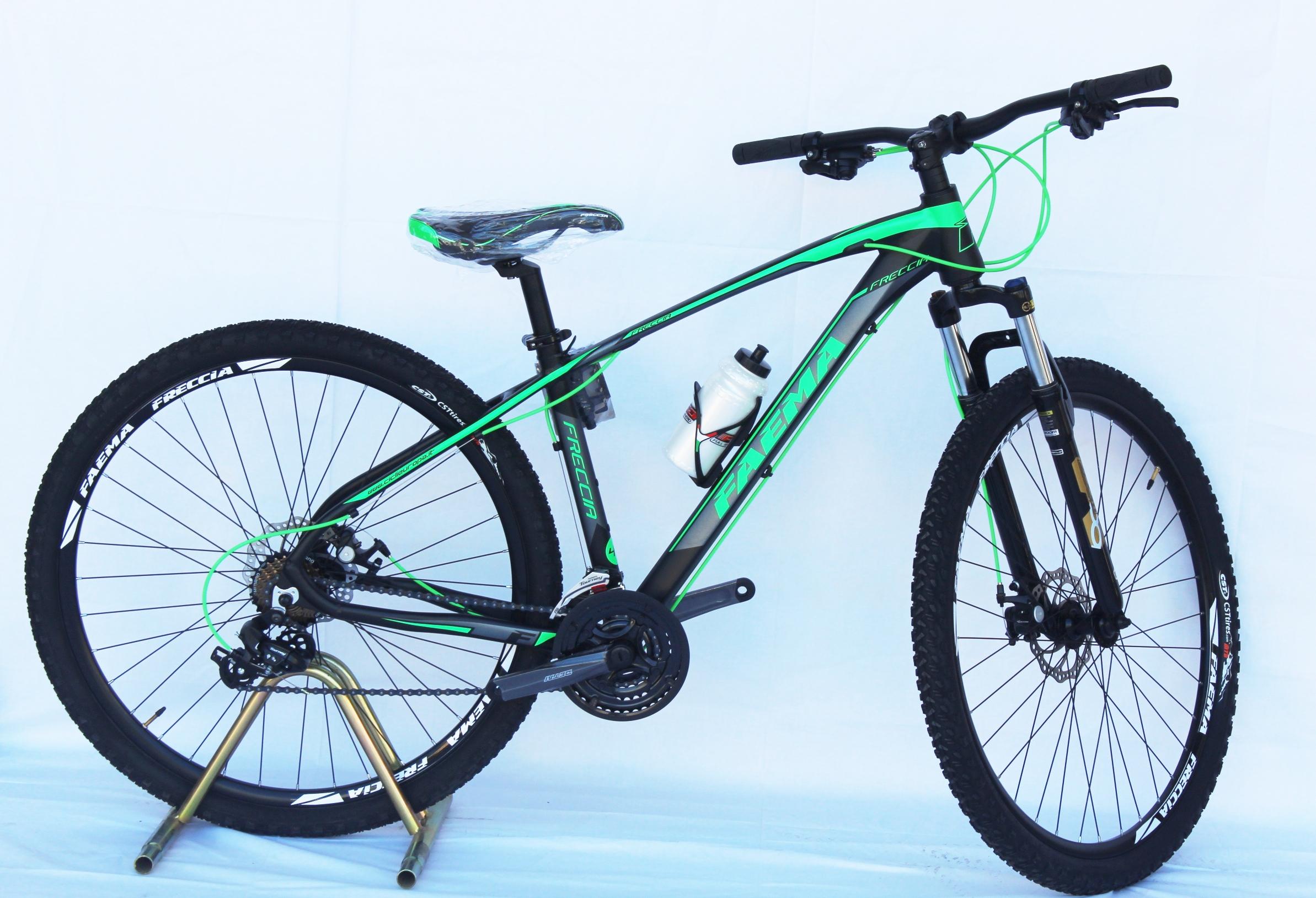 Bici FAEMA 26 MTB Uomo Verde Fluo