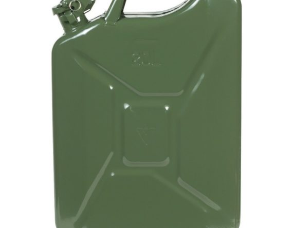 TANICA PER CARBURANTE IN METALLO 20LT -VERDE