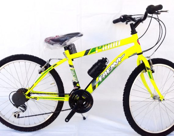 BICI FAEMA MOUNTAIN BIKE 24 JUNIOR GIALLO