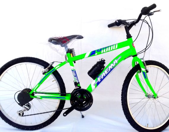 BICI FAEMA MOUNTAIN BIKE 24 JUNIOR VERDE FLUO