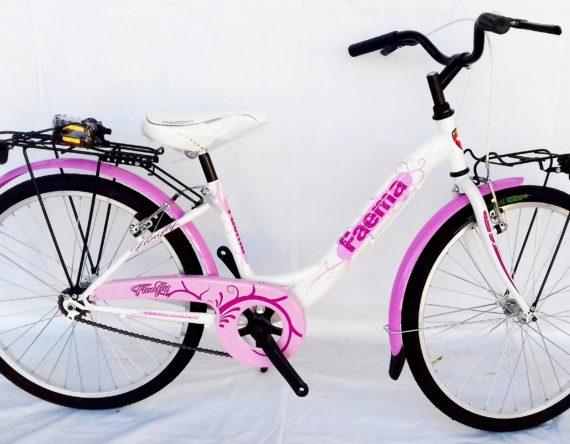 Bici OLANDA 24 MONOTUBO 1V. FAEMA BIANCA