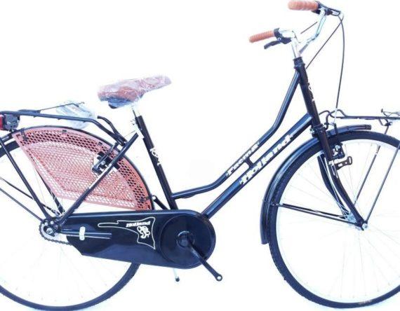 Bici OLANDA 26 SPORT 1V. FAEMA NERO (cestino in regalo)