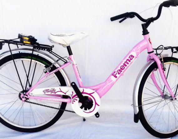 Bici OLANDA 24 MONOTUBO 1V. FAEMA ROSA
