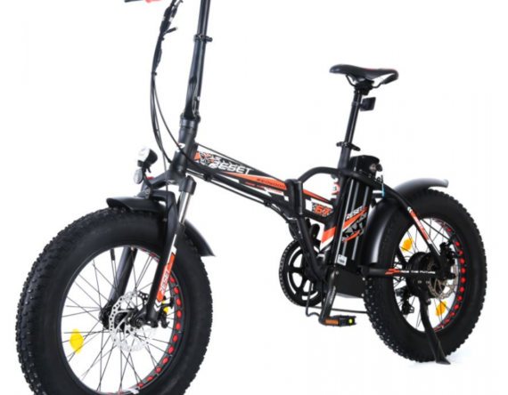 Reset Bike Bici Elettrica Redwood 500w 48v E Bike Bicicletta Fat Bike Pieghevole