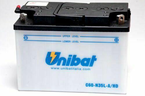 BATTERIA MOTO C60-N35L-A HD/SM UNIBAT